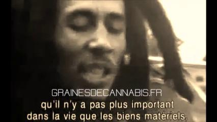 Bob Marley parle du cannabis (traduit en francais)